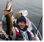 Рыболовная турбаза возле Терво, в Финляндии