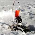 Зимняя ловля щуки на жерлицу